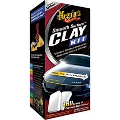 Meguiar's Smooth Surface™ Clay Kit