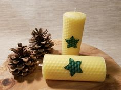 Organic beeswax sourced from local honey farms Beeswax Candles, Votive Candles, Organic Candles, Local Honey, Handmade Candles, Candle Making, Honeycomb, My Ebay, Making Candles