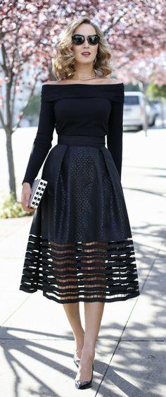Winter Mode Outfits, Classy Winter Outfits, Casual Summer Dresses, Trendy Dresses, Women's Fashion Dresses, Elegant Dresses, Little Black Dress Outfit, Black Dress Outfits, Chic Outfits