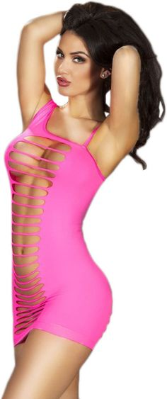 Muquam Solid Babydoll Price: Rs. 1,149 Sexy formfitting body with erotic shredded panels front and back, it's a quite unreserved teasing design that men and women are all love it. Asymmetric shoulder strap, the mini hemline cut is sexy. G-string is not included.