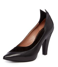 V. Westwood black pointed court shoes