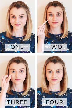 Poor Little It Girl - How To Apply Concealor