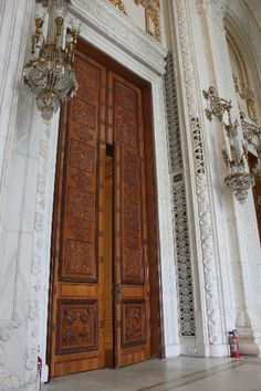Parliament of the Palace door, Bucharest Bucharest Romania, Old Doors, Gates, To Go, Windows, City, Palace, God, Furniture
