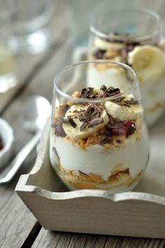 Desserts In A Glass, Cookie Desserts, Cookie Recipes, Dessert Recipes, Cake In A Jar, Eat Pray Love, Tiramisu, Clean Eating, Deserts