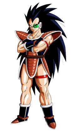 Raditz es hijo de Bardock y Gine, y hermano mayor de Goku. Él es uno de los pocos Saiyajin que sobrevivieron a la destrucción del Planeta Vegeta, y formaba parte del equipo de Vegeta. Es el primer enemigo en Dragon Ball Z.