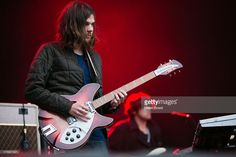Dominic Simper of Tame Impala performs on stage on day 1 of Way Out West Festival on August 8, 2013 in Gothenburg, Sweden.