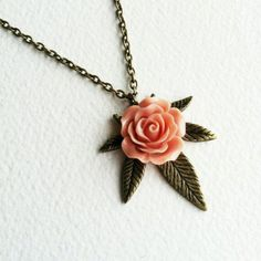 Marijuana Necklace with rose, marijuana jewelry, pink girly 420 weed cannabis hemp Brass Rose necklace cannabis vintage// That's really awesome. Class up my love of weed please. Boho Jewelry, Jewelery, Jewelry Accessories, Jewelry Necklaces, Jewelry Closet, Dress Jewellery, Fashion Jewelry, Emerald Jewelry, Jewellery Shops