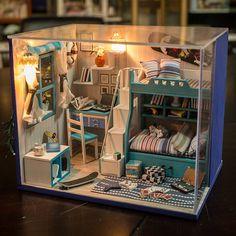 BRICOLAGE Miniature dormir chambre Miniature Handcraft par UniTime