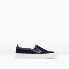 VELVET SNEAKERS-View all-Shoes-WOMAN | ZARA United States