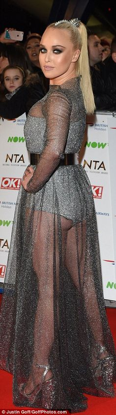 Stars came out for the National Television Awards but some got it wrong on the red carpet by flashing the flesh like Hollyoaks' Jorgie Porter or going old-fashioned like TOWIE's Lydia Bright. Georgie Porter, National Tv Awards, Fashion Fail, In The Flesh, Red Carpet Fashion, Hollywood, Hairstyle, Celebs, Glamour