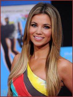 Amber Lancaster Hair with Long Straight  like the layers...