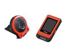 CASIO digital camera EXILIM 14.1M pixel camera unit / controller separation freestyle camera Orange EX-FR10EO - http://www.specialdaysgift.com/casio-digital-camera-exilim-14-1m-pixel-camera-unit-controller-separation-freestyle-camera-orange-ex-fr10eo/