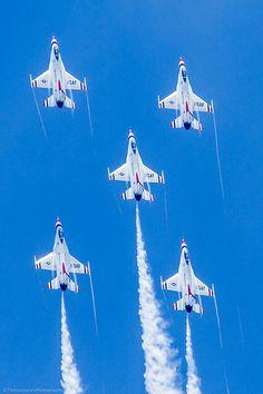 U.S.A.F. Thunderbirds; 2012 Indianapolis Air Show