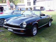 my first car -- Fiat 124 Spyder