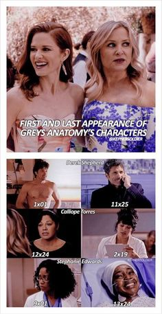 there are many more to ad to that list. Greys Anatomy Episodes, Greys Anatomy Funny, Greys Anatomy Couples, Greys Anatomy Characters, Greys Anatomy Cast, Grey Anatomy Quotes, Anatomy Humor, Stephanie Edwards, Meredith And Derek