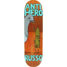 Anti Hero Skateboards Robbie Russo Roaches skateboard deck - now at Warehouse Skateboards! #skateboards #whskate