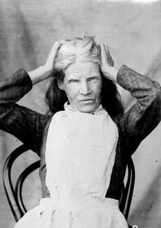 "old insane asylums""I suppose you want a photograph of a madwoman,"" said this woman, name unknown, to photographer and medical superintendent Frederic Truby King. ""I'd better stick some straw in my hair and make faces."" She was a patient at New Zealand's Seacliff Lunatic Asylum in the early 1900's."
