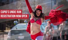 A 1-mile run in your undies. Big party before and after. All for charity! You in? Michigan Cupid's Undie Run before it sells out!