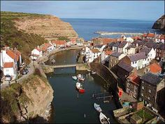 Village of Staithes, Yorkshire