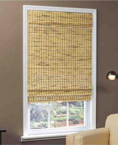 woven bamboo blinds - Bamboo Window Shades