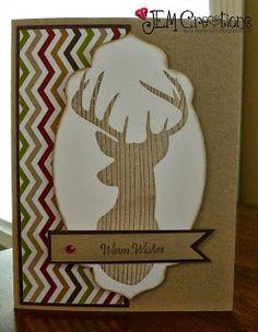 J.E.M. Creations: Christmas Card #StampinUp