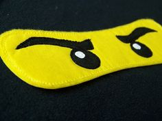 Lego Ninjago Eyes Ironon Patch / Applique on Etsy, $5.00
