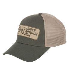 Under Armour® Men s Fishing Hook Patch Logo Cap Fish Man e24fe366ff9f