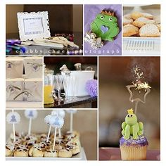 Princess & the Frog Party... what a cute idea!