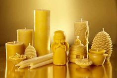 25 DIY Ideas How To Decorate A Candle, Make Beeswax Candles