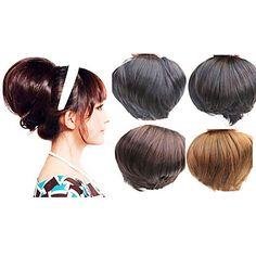 Calyx Shape Clip In Hair Wrap Hair Pieces - 4 Colors Available – USD $ 9.59