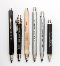 A clutch pencil stays the same size over time as the lead is used up, neither the length nor weight changes, it feels the same always, the balance is true.