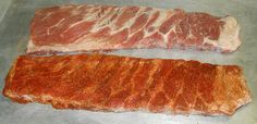 """How to Cook BBQ Pork Spare Ribs With Dry Rub Seasoning – Texas Brothers Barbecue Cooking tender Texas barbeque pork ribs is not rocket science. Anyone can do it. Dry rub seasoning and """"Slow and Low"""" smoked cooking is the key.  Here is our fool-proof method for smoking a great rack of ribs. For more detailed instructions, we also have cooking videos below to walk you though all the steps. Visit our site for all the details."""