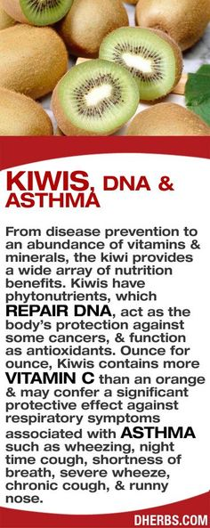 From disease prevention to an abundance of vitamins & minerals, the kiwi provides a wide array of benefits. Kiwis have phytonutrients, which repair DNA, act as the body's protection against some cancers & function as antioxidants. Oz. for Oz., Kiwis contains more vitamin C than oranges & may confer a significant protective effect against respiratory symptoms associated with asthma such as wheezing, night coughs, shortness of breath, severe wheeze, chronic cough & runny nose. #dherbs…