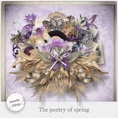 Personal Use :: Kits :: The poetry of spring [Page kit]