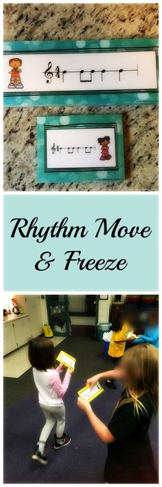 Your older kids still love to Move & Freeze - they just need a purpose! Rhythm Move & Freeze gives older students movement breaks while still learning! Check it out on SingToKids!