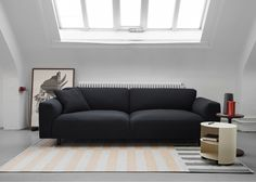Form Us With Love created the Dash textile to upholster its Koti Sofa for Hem