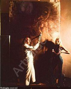 Amanda Lear & Salvador Dali