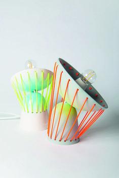 Elastic Table Lamps by Marta Bordes