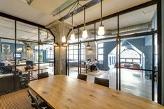 The Office Stylist » Blog Archive » JMC Holdings' Industrial-Cool Office by Emporium Design {Office Tour}