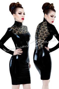 Latex dress