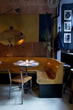 Head out On the Town for some Sinatra-esque capers at wartime era seafood venue...  http://www.weheart.co.uk/2014/05/28/navy-soho-new-york/