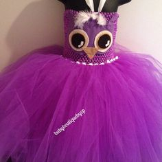Owl tutu on Etsy, $75.00