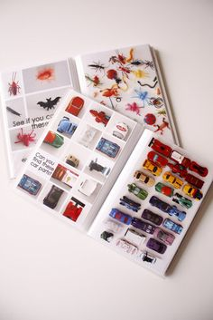 Rainbow...DIY I Spy Books - delia creates