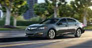 The 2014 Acura RLX, 31 MPG hwy, a V6 engine with an output of 310 horse power