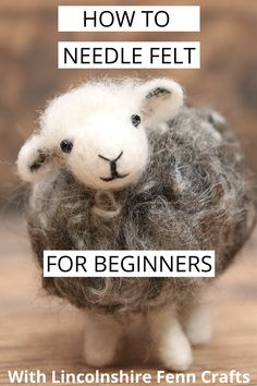 needle felted animals Ultimate Guide To Needle Felting For Beginners Needle Felting Kits, Needle Felting Tutorials, Needle Felted Animals, Wet Felting, The Animals, Felt Animals, Felt Fox, Felt Birds, Easy Hobbies
