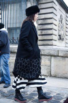Street Fashion Paris N285, 2017