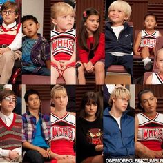 Glee. This has got to be my favorite scene in the entire show. Love the kiddies!