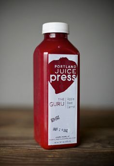 Raw, fresh pressed juice that you can get delivered. Super delicious flavors. I <3 Portland Living!