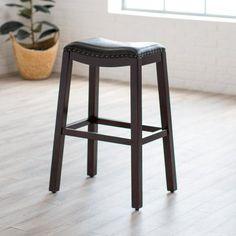 Belham Living Hutton Backless Extra Tall Bar Stool - RH15007-32 BLACK