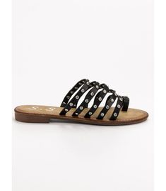 Šľapky s cvokmi Slip On, Sandals, Shoes, Fashion, Shoes Sandals, Zapatos, Moda, Shoes Outlet, La Mode